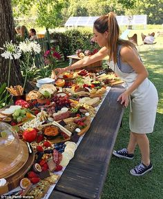 Drool-worthy: Gold Coast businesswoman Megan Fernandez started Your Platter Matters to make elaborate share boards for events