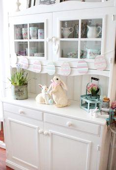 Bara Det Ljuvligaste - Easter, easterbunny, bunny, White country decor