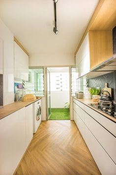 How much to set aside for your HDB flat renovation | kitchen ...