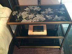 Trend: Artisanal. Minimum Side Table by Baker Furniture. 310 N. Hamilton. #HPMKT #hpmktSS #hpmktcoveredinkryptonhome