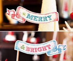 HOLIDAY PRINTABLES: You haaaave to check this out, there's so much stuff to make your holiday table extra festive!