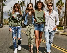 Find your army angels. Discover Replay's military-inspired looks for spring.