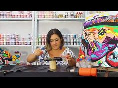 Como aplicar resina correctamente a tus trabajos en madera - YouTube Arte Country, Seashell Art, Cute Pillows, Resin Art, Decoupage, Ceramic Art, Diy Art, Sea Shells, Stencils