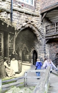 Time Travel Photography - Eye of the Tyne Photography Time Travel Pictures, Travel Photos, Local History, British History, Old Pictures, Old Photos, Vintage Photos, First Color Photograph, Newcastle England