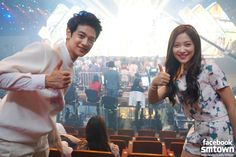 Minho with Red Velvet Yeri ❤