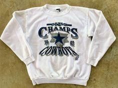 8de0114f1 Dallas Cowboys Vintage NFC Champs 1992 Super Bowl XXVII Sweatshirt Size L