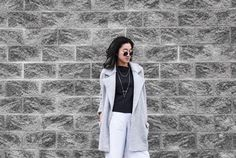 Jewel Rue   Prism Layered Necklace . #jewelry #jewllery #minimal #bracelet #necklace #fashionblogger #styleblogger #streetstyle #silver #delicate