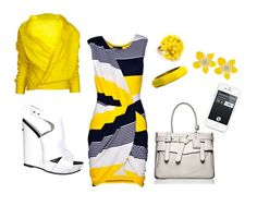 Love the yellow! Happy color!