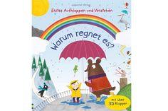 """Kleinkinder liebe es, in Bilderbüchern Bekanntes und Neues zu entdecken. Hier die schönsten Bücher für Zwei- bis Dreijährige, z.B. """"Warum regnet es?""""."""