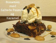 Brownies med Saltede Peanuts og Karamel
