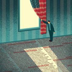 DAVIDE BONAZZI ILLUSTRATION: FREEDOM OF INFORMATION