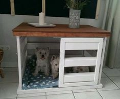 Wooden Dog House, Bunny Room, Ikea Bed, Pet Furniture, Dog Crate, Animal House, Shabby, Dog Bed, Entryway Tables