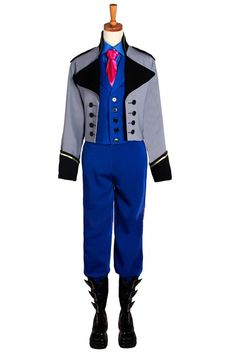 Frozen cosplay/costume prince Hans suit customization