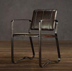 Chairs | Restoration Hardware Desk Chair in office