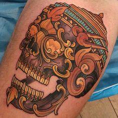 All done thanks callum. #tattoo #tattoos #tattooworkers #tattoosnob…