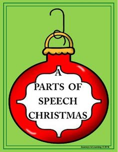 A fun and festive way to learn or review the parts of speech.Sheets contain nouns, verbs, adjectives and adverbs in ornaments that areto be colo(u)red using the legend.A colo(u)red and black/white sheet that gives the meanings of each of the parts of speech is included.