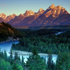Snake River Grand Teton National Park, Wyoming