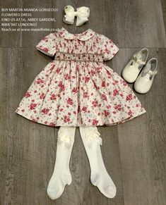 MARTIN ARANDA GORGEOUS FLOWERED DRESS!!  AVAILABLE IN 9M, 18M AND 4Y! SALE PRICE!! NOW £43.50+p&p £3.95 LOVELY PATENT TBAR SHOES BY CUCADA (ELI) #MasielBebe is a little #boutique dedicated to offering the finest #Spanish #clothing for babies and children.  IF YOU HAVE PRESENTS TO BUY YOU WON'T FIND A BETTER PLACE!!!! FIND US AT 56, ABBEY GARDENS, NW8 9AT LONDON!!!  SEE YOU SOON!  OR VISIT OUR WEBSITE http://www.masielbebe.co.uk/