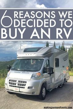 We Bought A Class C RV - The Winnebago Itasca Viva! In this post I talk about the many reasons we decided to buy an RV :) #rvlife #rv