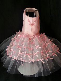 Little Bow Peep! Dog Dress, TuTu, Harness, Dog Clothes,  Pet Apparel.