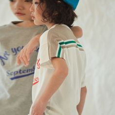 [2차입고완료] Back Line TS (ivory) Lil Boy, Little Boys, Boy Or Girl, Baby Boy, Toddler Boys, Kids Boys, Zara Boys, Kid Poses, Young Ones
