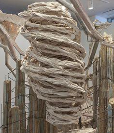 Diana Al-Hadid at the Hammer Museum LATimes