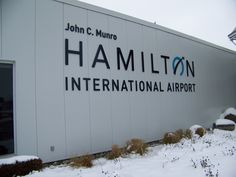 New signage for the Hamilton International Airport done by Speedpro Imaging Hamilton!  Check out all their airport re-branding work!  Well Done Speedpro!