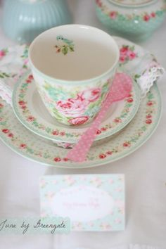 GreenGate Tea Time