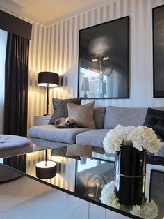 Living Room - modern - living room - other metro - Sindahl Living Room Decor Tips, Living Room Modern, Home And Living, Living Room Designs, Living Area, Simple Living, Urban Deco, Architecture Design, Living Room Remodel
