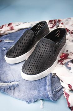 Perfectly Perforated Slip On Sneaker-[product_description]-[product_tag]-Stella B. Clothing