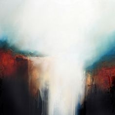 """""""Waters Fall"""" by Paul Bennett; Oil, Painting"""
