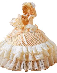 tuto robe barbie crochet http://www.ladybugy.com/le_coffre_a_jouets/vetements/mannequin29/manequin29.htm