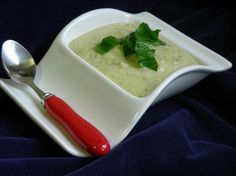 Courgette, Basil and Brie Cheese Soup   Recipes