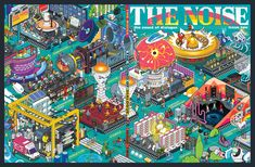 The Noise (Magazine cover for Archant http://www.archant.co.uk/) pixelart