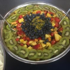 Look at this mighty delicious #FruitSalad #yummyyummy that #FeastinFruit prepared for Cannon Hill Anglican College celebration of World Teacher Day #food #foodporn #instafood  #dinner#picoftheday #sharefood #instafoodie #eating #foodgasm #foodpics#brisbane #brisbaneanyday #queensland #australia #brisbanefoodblog #brisbaneeats #brisbanefood #foodblog #cloud