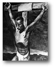 The Crucifixion of Isa al Masih. Segun mulsumanes