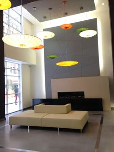 Lobby Building in NYC
