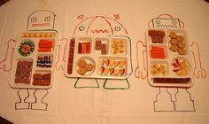 Robot party by Hillary Lang, via Flickr