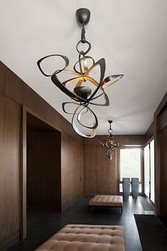 Amazing light fixture. Design by Kate Hume | Mansion russia
