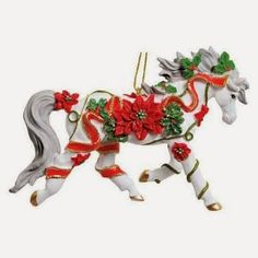 Horse themed ornaments