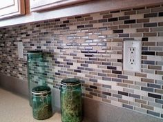 love this glass tile