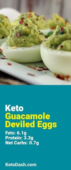 Trying this Guacamole Deviled Eggs and it is delicious. What a great keto recipe. #keto #ketorecipes #lowcarb #lowcarbrecipes #healthyeating #healthyrecipes #diabeticfriendly #lowcarbdiet #ketodiet #ketogenicdiet