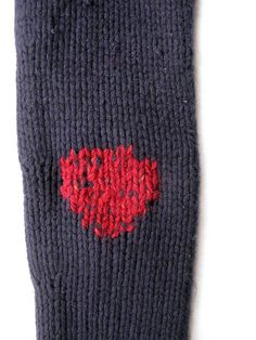 sweater mend elbow after by LeilaBadblood, via Flickr