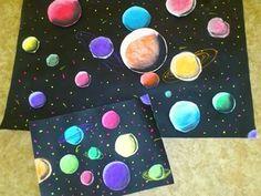 Vesmír Art Lessons, Outer Space, Solar System, Summer, Art Education
