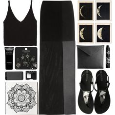 Solstice by ladyvalkyrie on Polyvore featuring Zara, Maison Margiela, Topshop, Mark/Giusti, Givenchy, Rouge Bunny Rouge, NARS Cosmetics and IPANEMA