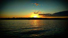 #sunset yesterday at #longdockpark  #beaconny  #hudsonriver #hudsonvalley  #clouds #nature #water #fireball by haasetradamus