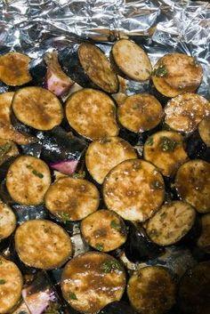 Balsamic Roasted Eggplant. Did someone say yum? — iheartyum