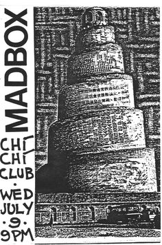 I played in a band Ruby led called MadBox.  Jeff Mooney was our frequent collaborator and percussionist.