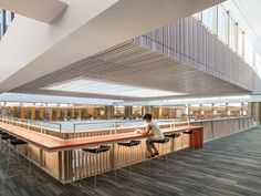 Odegaard Undergraduate Library I The Miller Hull Partnership I 2014 Recipient AIA Honor Awards