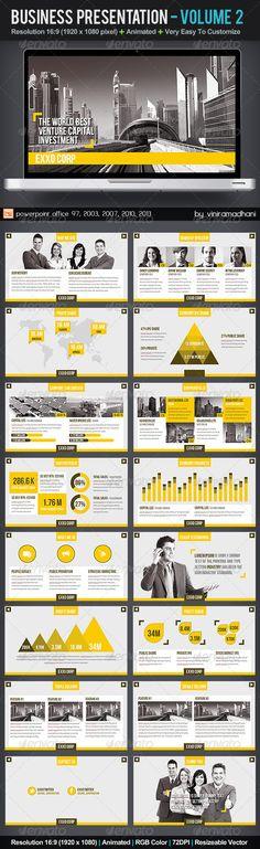 Business Presentation   Volume 2 - Business Powerpoint Templates